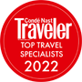 Top Travel Specialist since 2008